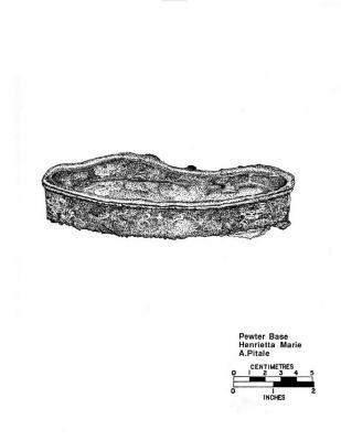 Artifact Drawing - Pewter Base