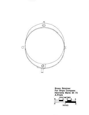 Artifact Drawing - Brass Retainer