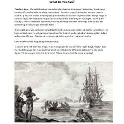 Module 3: Exploring Slavery Through Art