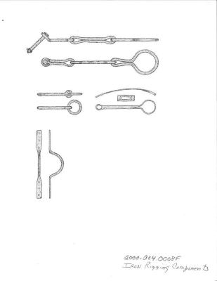 Artifact Drawing - Iron Rigging Components